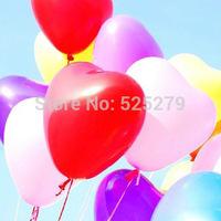 100pcs/lot NEW latex balloon,birthday wedding party balloon colorful balloon Children's gift baloes