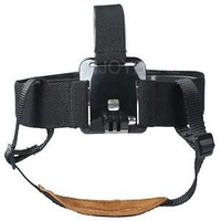 Elastic Head Harness Belt Mount Strap for GoPro HD Hero 2 Hero3 Cameras #D2