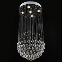 Modern chandelier Crystal Ceiling Lamp (50cm W*90cm H)best K9 crystal for home/hotel/restaurant/stairs droplight,Free shipping