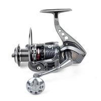 TOKUSHIMA Metal Spinning Fishing Reel 14BB HK5000 Parallel Volumes Gear 5.5:1 Pesca Free shipping