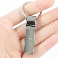 Metal USB Flash Drive pen drive 64GB 32GB 16GB 8GB Memory Flash Drive pendrive Usb 2.0 stick with key ring