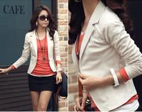 Women's blazer autumn blazer feminino ol casual long-sleeve slim blazer short jacket women blazers and jackets clothing D451