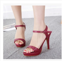Ladies Sexy High Heel Sandals Women Pumps Summer Shoes With Ankle Strap Dropshipping Wholesale CX219-3NF