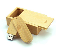 2014 New Package Wooden Rotation Swivel Oval Model external storage 2.0 USB flash Drive Memory Card Pen Disk