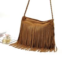 European&American Style Star Fashion Tassels Bags Hobo Clutch Purses Handbags women Shoulder Totes Women Bags  borlas