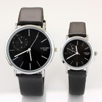 2013 New Fashion watch lovers luxury brand Leather Band Quartz  Waterproof Wrist Watches Free Shipping