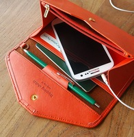 Happy Easy Buy --Tripping Clutch- Candy Color Wallet for Big Phone- Phone Wallet-- Envelope Phone Wallet