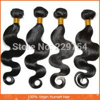 6A Top Quality 100% remy Brazilian Virgin Hair  Virgin Hair 100g / Piece  3 Pieces/Lot mixed length  Free Shipping