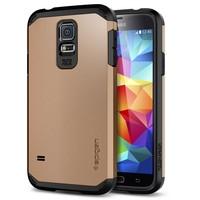 New Hot !! Tough Armor SPIGEN SGP Case for Samsung Galaxy S5 Hard Mobile Phone Cover Bags 1pcs Retail 12 Colors YXF03860