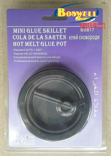 60w 220-240v usa stecker-thermostat haarverlängerung werkzeuge, leimbecken, 1pcs/lot versandkostenfrei