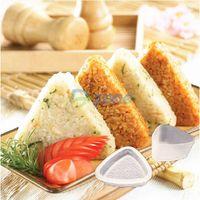 Triangle Form Mold Sushi DIY Onigiri Rice Ball Bento Press Maker Mold Tool#56978