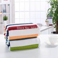 Home textile!New 80% Bamboo fiber+20% cotton Bath Towel Striped towel,Bamboo fiber Bath sheets towels, Large Size 90x180CM,630g