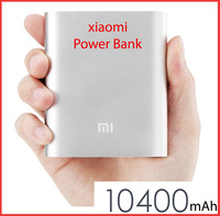 Xiaomi Power Bank  Xiaomi M2 M2A M2S M3 Red Rice Smartphone ,10400mAh Power Bank With Silver Color