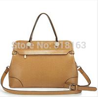 Free Shipping Genuine Leather Bag 2014 fashion women handbags Shoulder tote bag