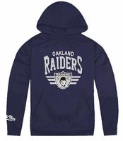 new Men's autumn or winter Hooded fleece Raiders Pullover cotton long-sleeve sportswear Varsity Jacket baseball sweatshirt