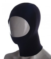 Free shipping!!! Scuba Diving Snorkeling Water Sports Cap Hat Hood Neck Cover Black XL