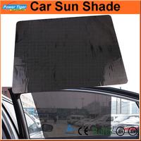38*42 CM Black Car Sun Shade Curtain PVC Protection Side Window Curtain Insulation Window Film Car Sticker