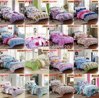 Wholesale Fashion Bedding Sets Floral Plaid Stripe 4PCS Bed Set Duvet Quilt Cover Bedclothes Bedcover Home decor Home Textile