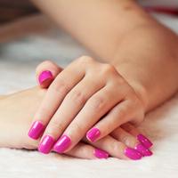 New Dark Pink 24 Nails Fast Easy Press On  Salon Manicure Nail Art Full Cover False Nail Drop Ship A0348