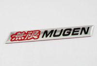 Auto car Aluminum red MUGEN  Emblem Badge Sticker for H logo car