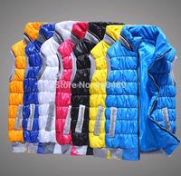 Autumn and winter Women fashion vest winter with hood vest ladies vest jacket veste waistcoat slim down cotton vest womenOutdoor