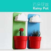 5pcs/lot EMS Free shipping Rainy Pot Wall-hung Cloud Flowerpot RECESKY clouds flowerpot
