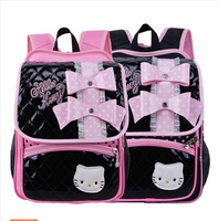 Free shipping hello kitty children school bags girls children animal print backpacks,kids school backpack best gift for girls