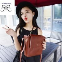 2014 autumn new crossbody bag vintage small camera bag  brown orange fashion messenger bag telephone envelope bag