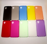 Min.order is$10 (mix order)transparent PVC Multi color  Antiskid protective Case Cover For LG Google Nexus 5 e980 d821