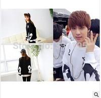 man hoody rap mon sweatshirt men BTS long-sleeve sport tshirt cotton hip-hop numbers eyes sweatshirt  brand sportswear
