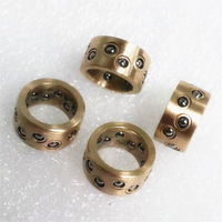 High standard miniature copper alloy ball cages for automation parts