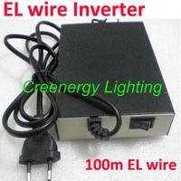 Free shipping AC 110V/220V EL wire Inverter load 100 meters EL wire