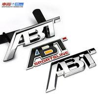 6 scirocco passat cc abt refires free metal emblem body stickers