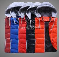 XL/3XL Autumn and winter Removable plus size vest Women fashion winter crochet vest ladies black jacket woman veste waistcoat