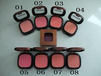 1pcs retail  NO 181 single color powder blush makeup,8color option free shipping