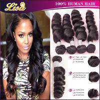 peruvian loose wave 4pcs unprocessed human hair rosa hair products peruvian virgin hair loose wave ali moda hair free shipping