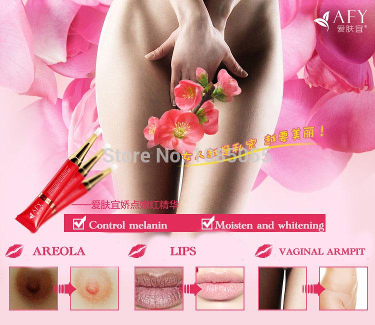 3pcs free shipping Intimate Bleaching Pinkish Cream Pink Lightening Whitening Nipple Underarm Vagina Lip Private Part Skin Care(China (Mainland))