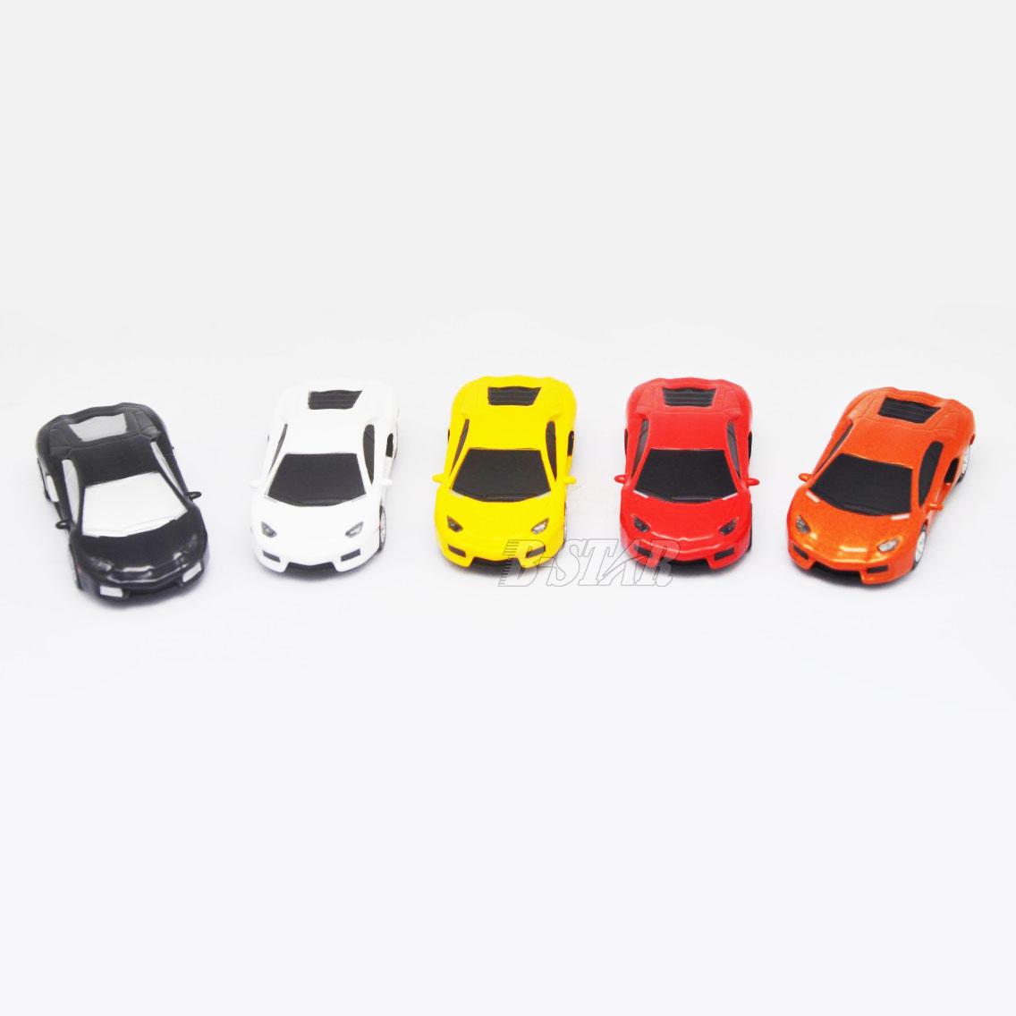 Free shipping Hot-selling Wholesale Cartoon mini small 5 Colours car 2-32GB USB 2.0 Flash Memory Stick Pen Drive U Disk RU425(China (Mainland))