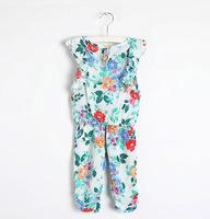 Retail spring new 2014 baby girls fashion suit kids clothing sets dress+pant children wear casual short-sleeve dresses 2pcs/set