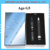 Ago G5 pen E Cigarette electronic cigarettes kits dry herb vaporizer atomizer pen vapor wax herbal vaporizer with LCD Display