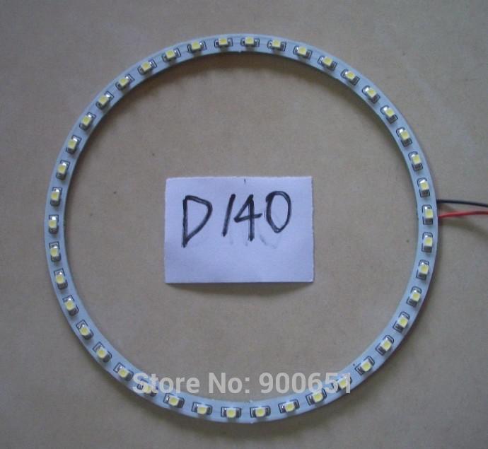 140mm 42SMD 3528 headlight led angel eye car light source,external light(China (Mainland))
