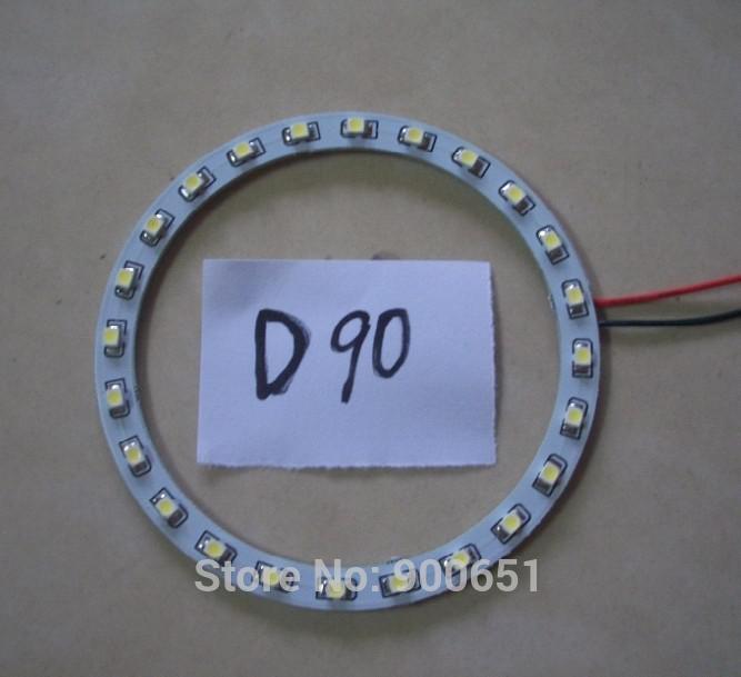 90mm 24SMD 3528 headlight led angel eye car light source,external light(China (Mainland))