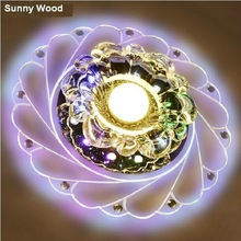 Free shipping 3W LED crystal ceiling lamp for entryway MX-001(China (Mainland))
