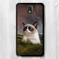 Grumpy Cat Hill Funny Protective Cover Case For Samsung Galaxy Note 3