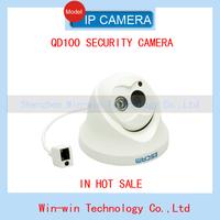 2014 Escam OWL QD100 Night Vision Onvif 3.6mm fixed lens 720P H.264 1/4 CMOS P2P Mini security  IP Camera