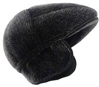 new arrive high quality waterproof Mink fur vintage bomber hat for winter warm soft men's hat  casual men's caps