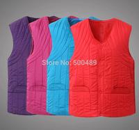2XL-4XL Size Autumn and winter plus size Women suit vest hood Wear on the inside jacket crochet cotton vest Wholesale&retail
