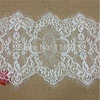 Ivory Alencon Lace Trim, Lace Hem, Lace Shawl Fabric, Wedding Bridal Lace Fabric, Wedding Dresses DIY SALE