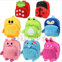 Plush dolls school backpacks children school bags for teenagers  Kindergarten kids school bag frozen backpack free shipping