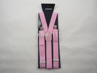 Free Shipping+Wholesale Fashion Braces candy color clip on Braces Elastic Y-back Suspenders Adjustable Braces,300 pcs/lot